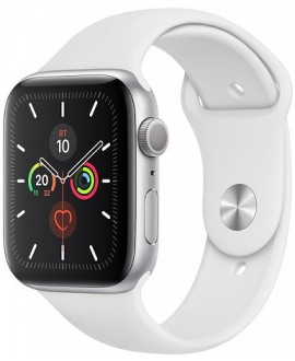 Apple Watch Series 5 40mm Silver / White - фото 1