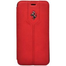 Кожаный чехол-книжка Ferrari