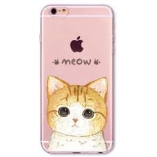 Силиконовый чехол Meow