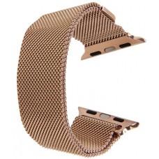 Миланский сетчатый браслет для Apple Watch 42mm Hoco Milanese Loop Gold