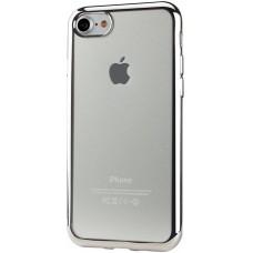 Чехол силиконовый с рамкой в цвет телефона HOCO(в ассортименте)