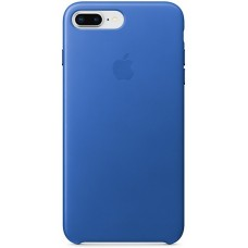 Apple Leather Case Blue