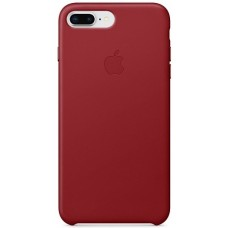 Apple Leather Case Red
