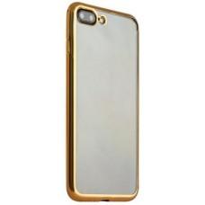 Чехол силиконовый с рамкой HOCO Gold