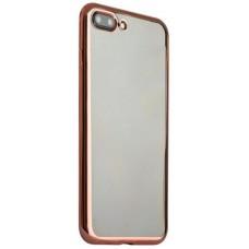Чехол силиконовый с рамкой HOCO Pink