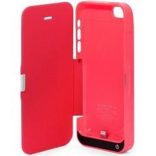 Чехол-аккумулятор iPhone 5c розовый