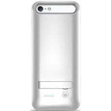 Чехол-аккумулятор iPhone 5/5s/SE серебро