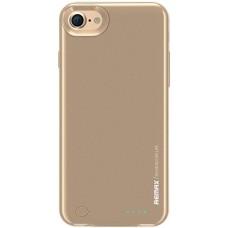 Чехол-аккумулятор iPhone8/7 золото