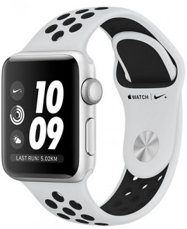 Apple Watch Series 3 NIKE+ 38 mm Silver/Pure Platinum - фото 1