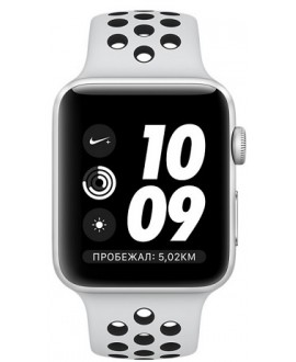 Apple Watch Series 3 NIKE+ 38 mm Silver/Pure Platinum - фото 2