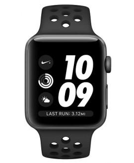 Apple Watch Series 3 NIKE+ 42 mm Space Gray/Black - фото 2