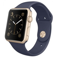 Apple Watch 2 38 mm gold/sport midnig blue