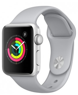 Apple Watch Series 3 38mm Silver/Fog - фото 1
