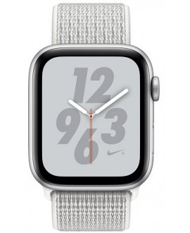 Apple Watch Series 4 Nike+ 40mm Silver / White Nike Loop - фото 2
