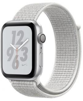 Apple Watch Series 4 Nike+ 44mm Silver / White Nike Loop - фото 1