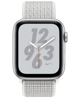 Apple Watch Series 4 Nike+ 44mm Silver / White Nike Loop - фото 2