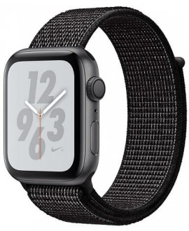 Apple Watch Series 4 Nike+ 44mm Space Gray / Black Nike Loop - фото 1