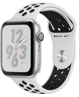Apple Watch Series 4 Nike+ 44mm Silver / Pure Platinum - фото 1
