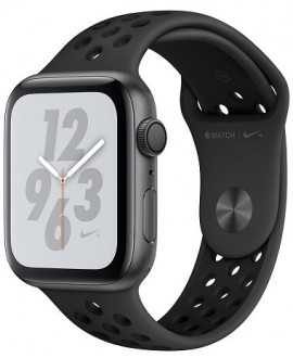 Apple Watch Series 4 Nike+ 44mm Space Gray / Antracite - фото 1