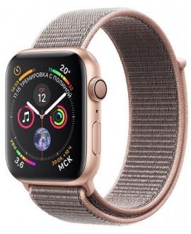Apple Watch Series 4 44mm Gold / Pink sand loop - фото 1