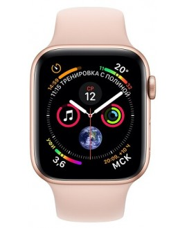 Apple Watch Series 4 44mm Gold / Sport Rose - фото 2