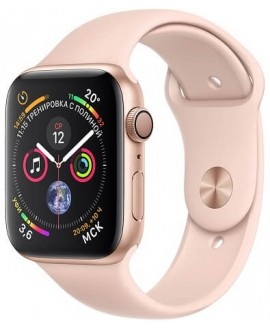 Apple Watch Series 4 40mm Gold / Sport Rose - фото 1