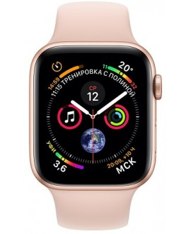 Apple Watch Series 4 40mm Gold / Sport Rose - фото 2