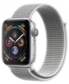 Apple Watch Series 4 40mm Silver / Seashell loop - фото 1