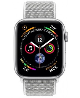 Apple Watch Series 4 44mm Silver / Seashell loop - фото 2