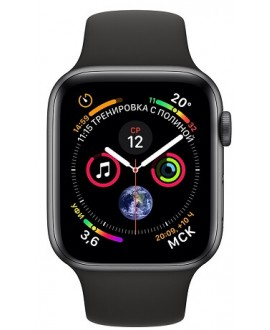 Apple Watch Series 4 40mm Space Gray / Sport Black - фото 2
